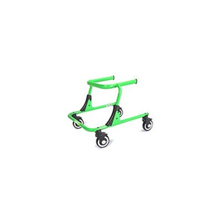- fabrication enterprises 31-3040g small moxie gt gait trainer, magic green