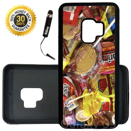 Custom Galaxy S9 Case (Tasty Mexican Candy Caramelo) Edge-to-Edge Rubber Black Cover Ultra Slim | Lightweight | Includes Stylus Pen by