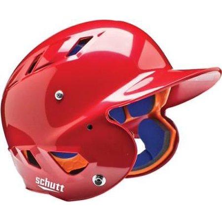 - Schutt AiR-4.2 BB Baseball Batting Helmet, MOLDED, JR & SR, Scarlet, Junior
