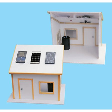 Solar Made Electric Kit for Science Fair Project Build Environment Friendly Home (Preschool Halloween Science Projects)