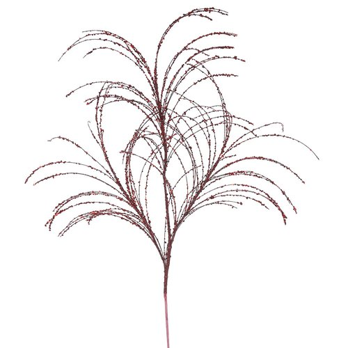 The Holiday Aisle 6 Piece Glitter Branch (Set of 6)