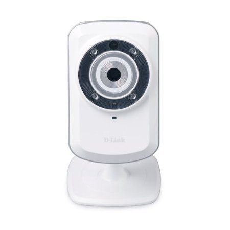 D Link Dcs 932L Surveillance Network Camera   Color  Monochrome   Cmos   Wireless  Wired   Wi Fi   Fast Ethernet