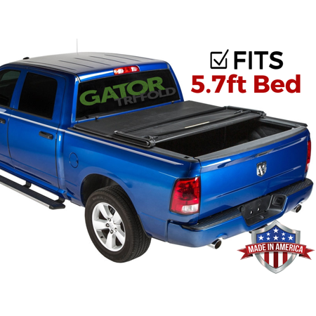 Gator ETX Tri-Fold (fits) 2019 Ram 1500 5.7 FT Bed No RamBox New Body Only Tonneau Truck Bed Cover Made in USA