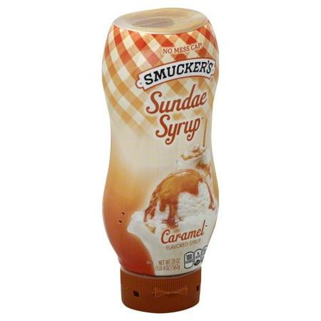 (2 pack) Smucker's Caramel Flavored Syrup, 20oz