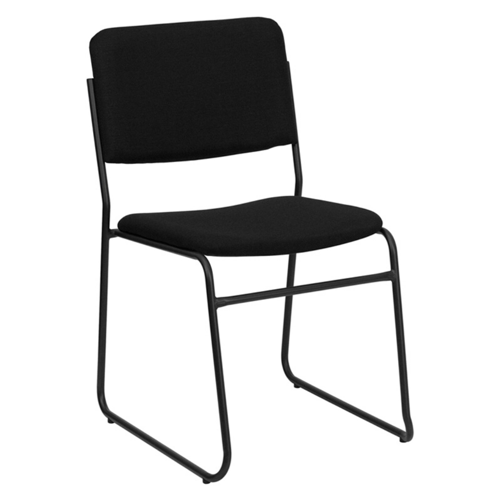 Flash Furniture HERCULES Series 1000 Lb. Capacity High Density Stacking  Chair With Sled Base,