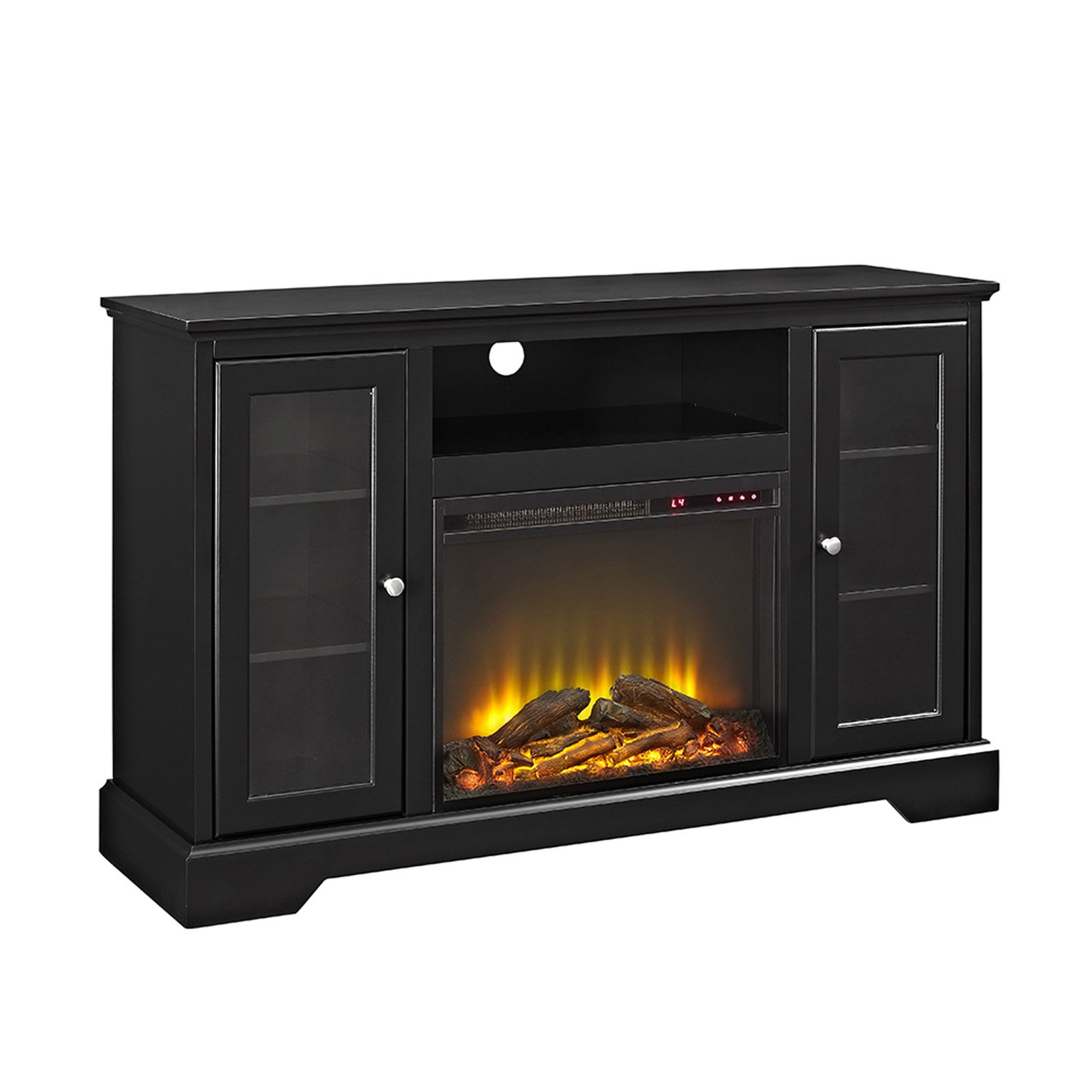 Walker Edison 52-in. Highboy Fireplace TV Stand