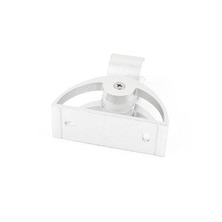 Bathroom Screw Mount Shower Head Holder Hanger Showerhead Bracket Silver Tone - image 2 de 3