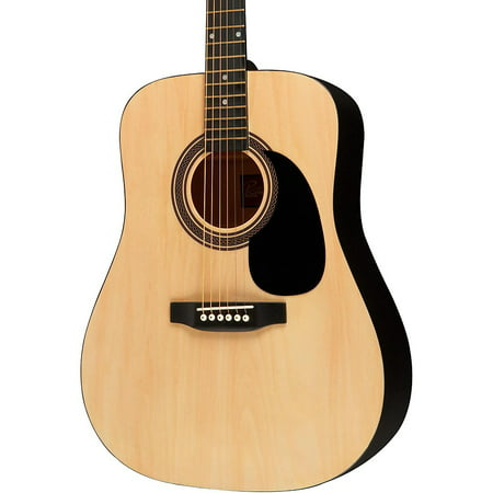Rogue RA-090 Dreadnought Acoustic Guitar Natural (Dreadnought Body)