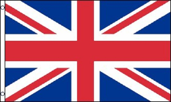 3x5 British Flag UK United Kingdom Banner Britain Union Jack Pennant New Outdoor by Home and Holiday Shops