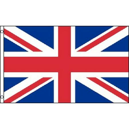 2x3 British Flag UK United Kingdom Banner Britain Union Jack Pennant New Outdoor