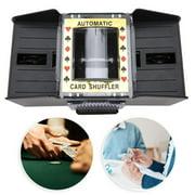 Domqga Card Shuffler Automatic Battery Powered Playing Card Shuffler Machine for 1 To 4 Deck Poker,Card Shuffler Machine,Poker Card Shuffler