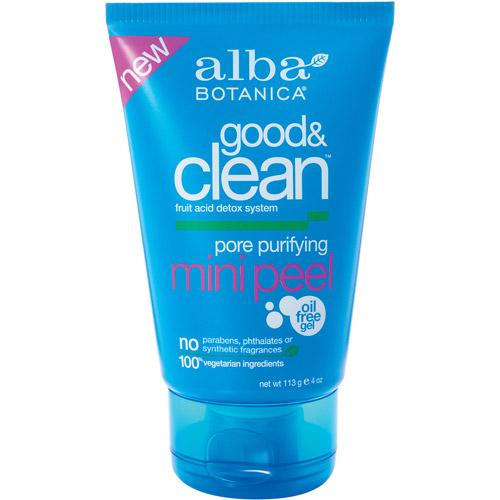 Alba Botanica Good & Clean Pore Purifying Mini Peel, 4 oz