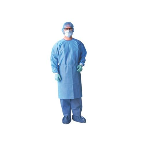 Medline AAMI Level 3 Isolation Gowns,Blue,X-Large NONLV325XL