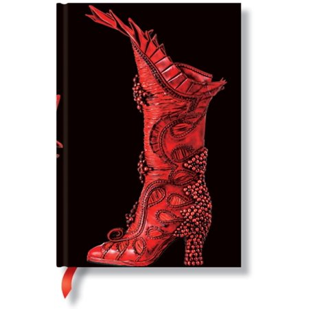 Paperblanks Fabulous Footwear Sorceress Midi Notebook with Lined Pages (Lin Footwear)