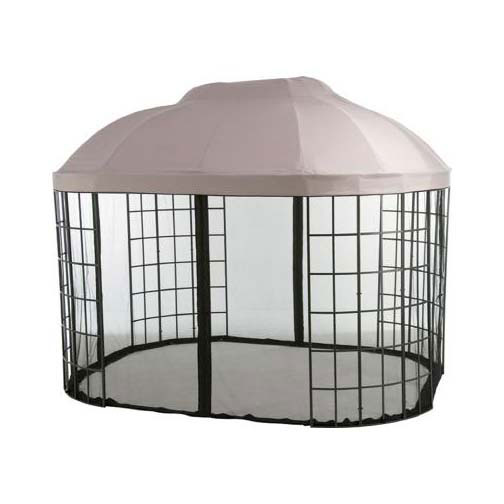 Garden Winds Replacement Canopy Top For Home Depot's Pacific Casual Oval Dome