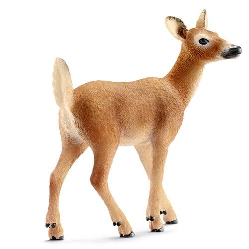Schleich White-Tailed Doe Toy Animal