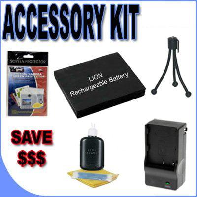 BigVALUEInc Accessory Saver NP-40 Lithium Ion Battery/Rap...