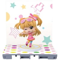 Idolmaster: Cinderella Girls Rika Jougasaki Chibi-Kyun-Chara Figure [Let's Go Happy!]