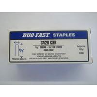 "Duo Fast 3420CXR 3/16"" Crown X 5/8"" Staples"