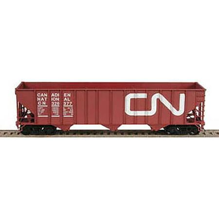 Bowser Ho Scale 100 Ton 3 Bay Coal Hopper Canadian National Cn Brown  326224