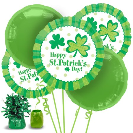 St. Patrick's Day Balloon Bouquet - Party Supplies