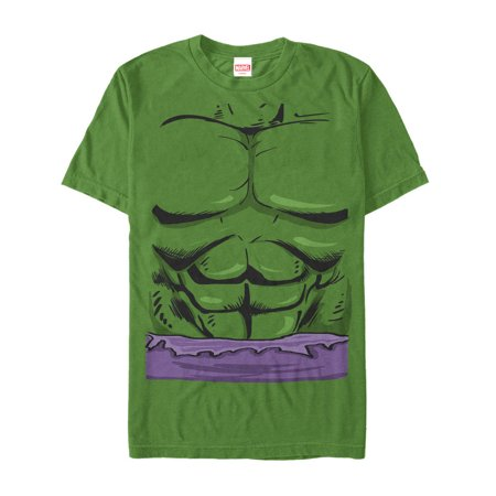 Marvel Men's Halloween Hulk Classic Costume - Hulk Costume T-shirt