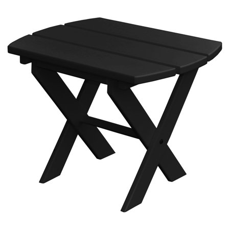 Radionic Hi Tech Newport Recycled Plastic Folding Patio End Table