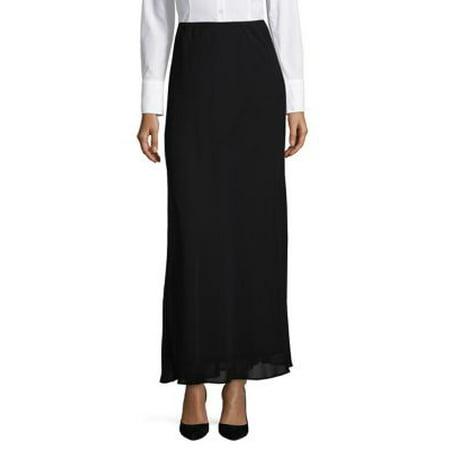 Dkny Womens Skirt (Chiffon Maxi Skirt)