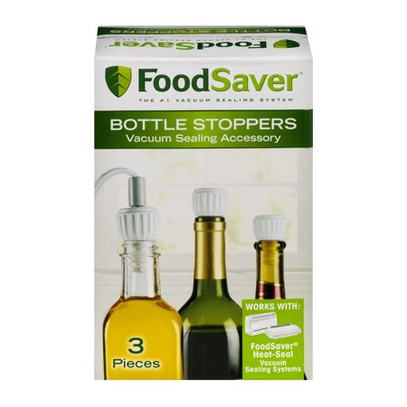 - Food Saver Bottle Stoppers - 3 PC, 3.0 PIECE(S)