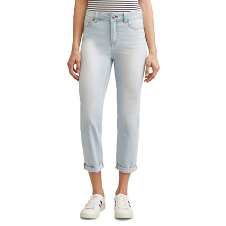 EV1 from Ellen DeGeneres Maddy Straight Leg Jean Women's (Light (Shoes To Wear With Light Blue Jeans)