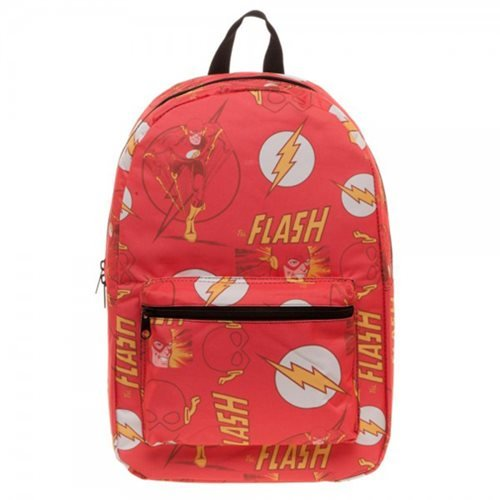 68fa7afc5b The Flash Logo Sublimated School Backpack