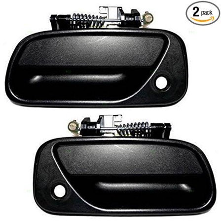 - Driver and Passenger Outside Outer Textured Door Handles Replacement for Toyota Pickup Truck 6922034010 6921034010, Made to exact OEM specifications By AUTOANDART
