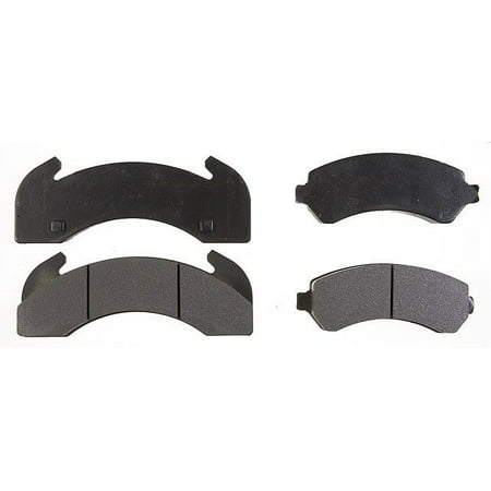Go-Parts OE Replacement for 1986-2001 Mack CS300P Mid-Liner Rear Disc Brake  Pad Set for Mack CS300P Mid-Liner