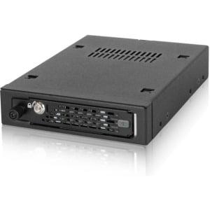 "ICY DOCK ToughArmor XX MB491SKL-B Industrial Full Metal 2.5"" SATA/SAS HDD and SDD Mobile Rack"