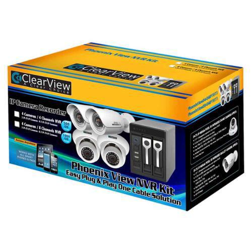 4-Camera and NVR Kit