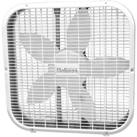 Holmes Box Fan, 20 Inches, White (HBF2010A-WWM)