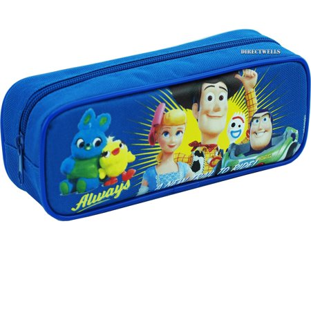 Toys Story 4 Blue Pencil Case