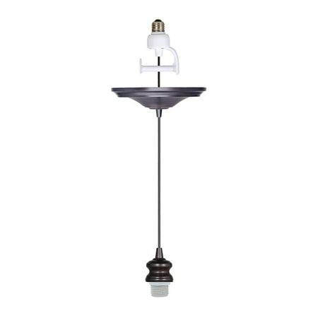 Instant Pendant Recessed Light Converter - Brushed Bronze Adapter only (Pendant Lights Bronze)