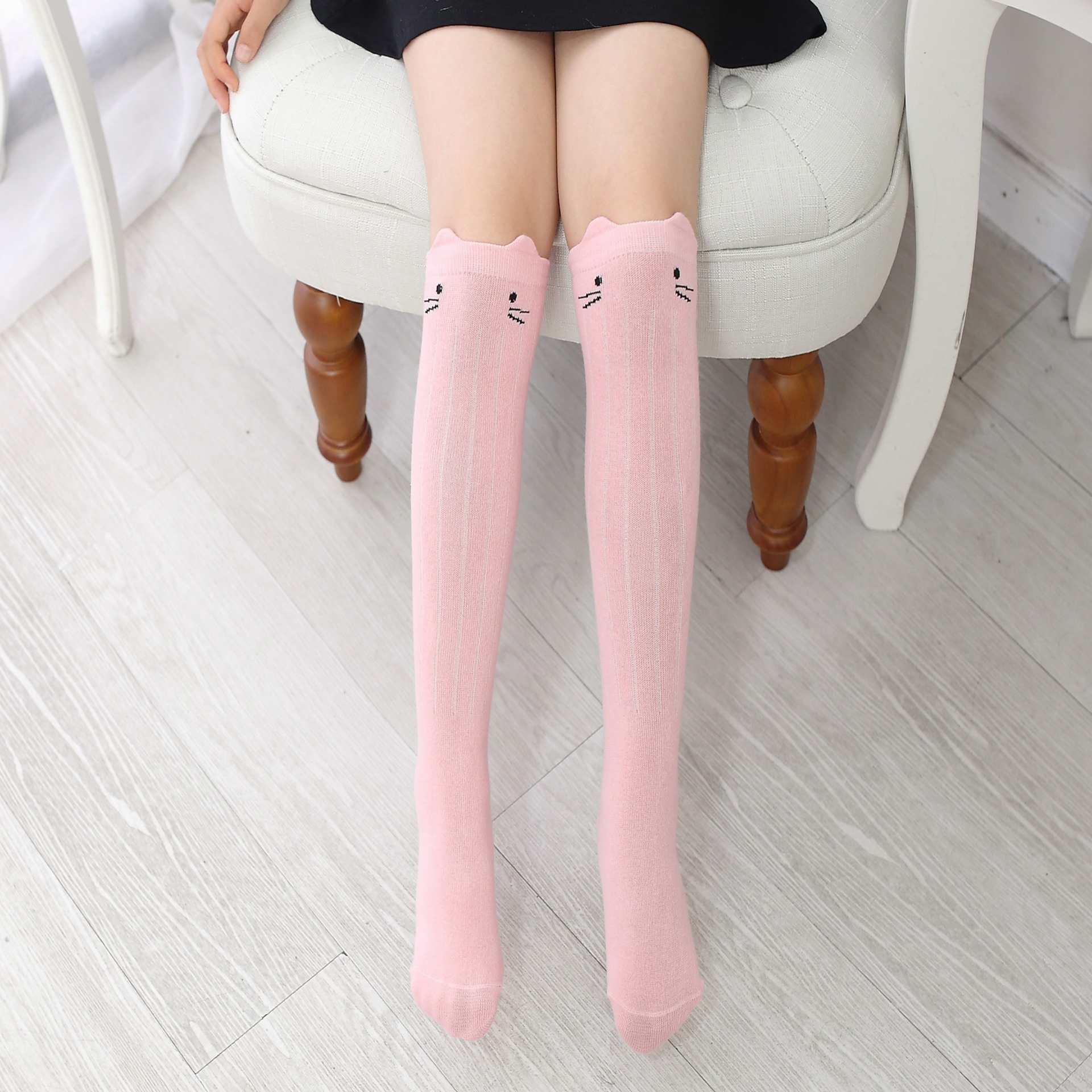 For Age 0-6 Baby Kids Toddlers Girls Knee High Socks Tights Leg Warmer Stockings