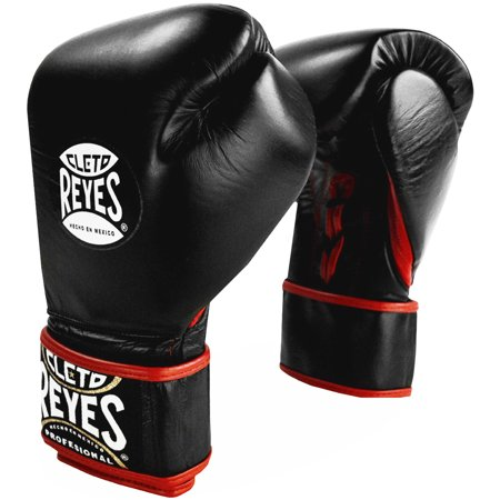 - Cleto Reyes Lace Up Hook and Loop Hybrid Boxing Gloves - Black