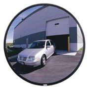 Value Brand Outdoor Convex Mirror,18 in.,Hardboard, SCVIP-18Z-VT