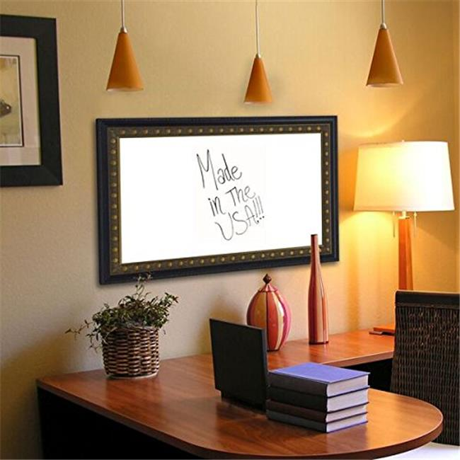 Rayne Mirrors W4236.5-60.5 American Made Traditional Cameo Bronze Whiteboard, 40 x 64 in.