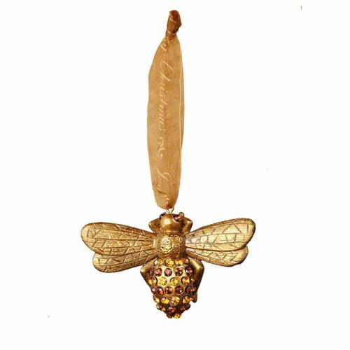 Sage & Co. Donna Stevens Resin Bee Ornament (Set of 12)