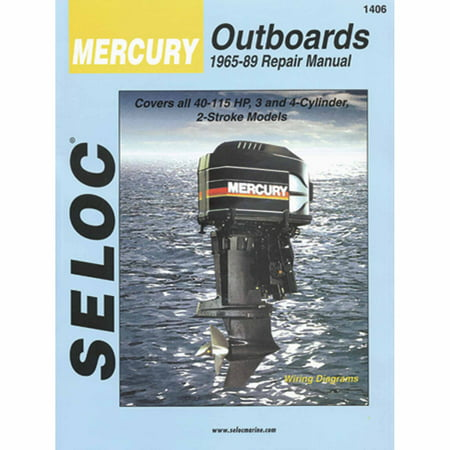 Seloc Marine Manual for Mercury Outboards