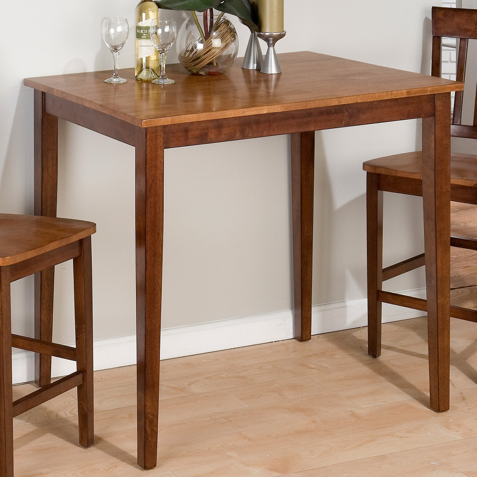 Ridgewood Counter Height Drop Leaf Dining Table With Storage   Walmart.com