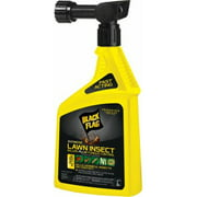 32 oz Black Flag Ready to Spray Lawn Insect Killer with Fungus Control