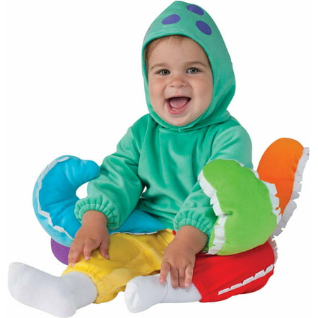 Rainbow Octopus Infant Halloween Dress Up / Role Play Costume