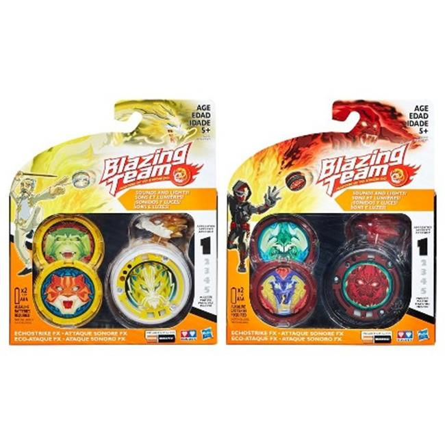 Hasbro HSBB5965 Blazing Team Echostrike FX Assorted , Pack of 6 by Hasbro