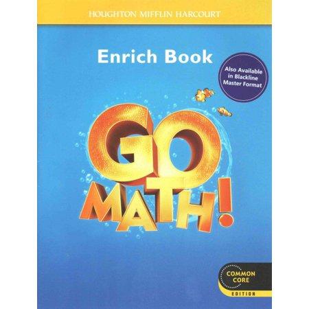 Go Math!, Enrich Book, Grade K - Walmart.com