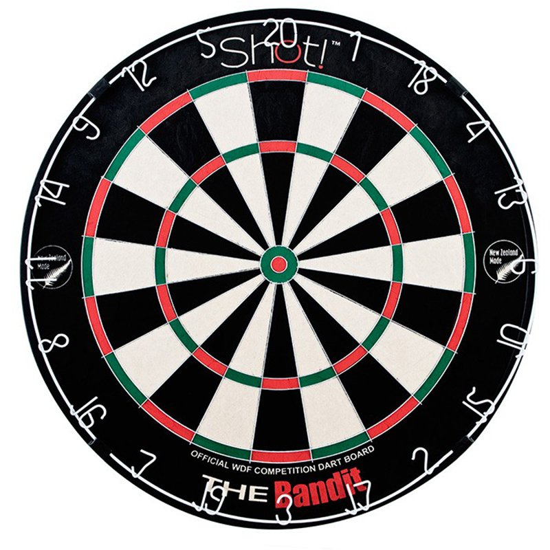 Shot Bandit Bristle Dartboard by